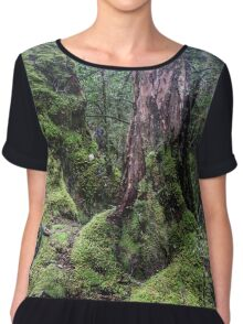 Enchanted Forest 3 Chiffon Top