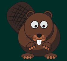 Cartoon Beaver by mdkgraphics