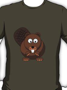 Cartoon Beaver T-Shirt