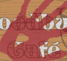 The Woodbury Cafe Sticker