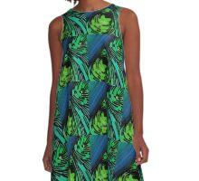 Noise A-Line Dress