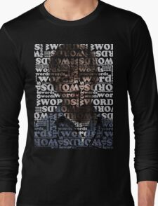 wordswordswords 4 Long Sleeve T-Shirt
