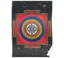 Shri Yantra Mandala  Poster