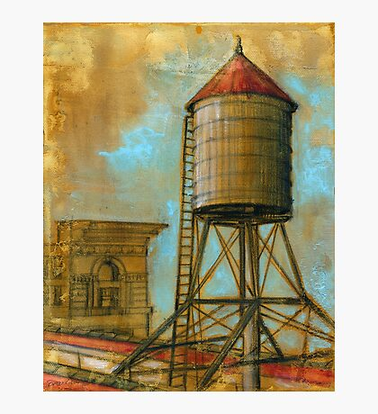 NYC Water Tower 1 Photographic Print