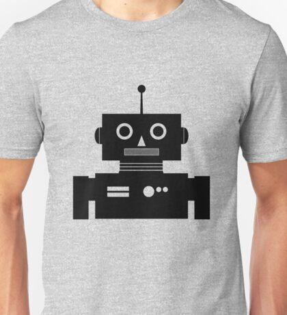 Retro Robot Shape BLK Unisex T-Shirt
