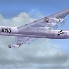 USAF B-36 Peacemaker by Walter Colvin