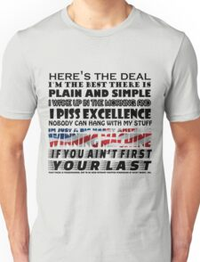 If you aint first, your last T-Shirt