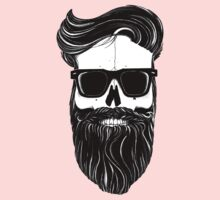 Ray's black bearded skull  Kids Clothes