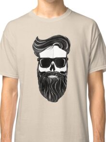 Ray's black bearded skull  Classic T-Shirt