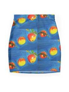 Breakfast, Lunch, Dinner Mini Skirt