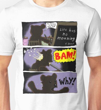Suicide of T. Bear Unisex T-Shirt