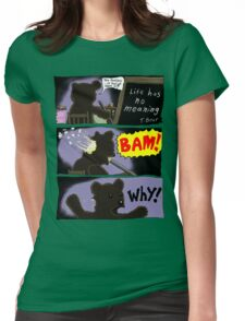 Suicide of T. Bear Womens Fitted T-Shirt