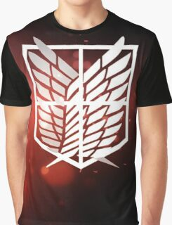 stationary guard attack on titan Graphic T-Shirt
