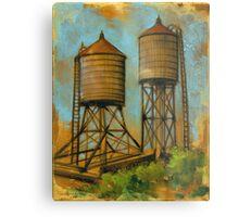 Water Towers 2 Metal Print