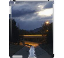 Stormwater reflections iPad Case/Skin