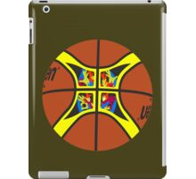FIBA official basketball, without text iPad Case/Skin