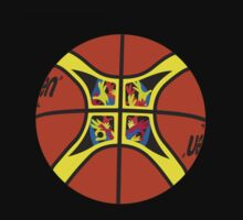 FIBA official basketball, without text by JoAnnFineArt