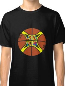 FIBA official basketball, without text Classic T-Shirt