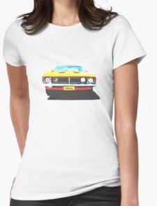 Ford Falcon Tshirt Womens Fitted T-Shirt