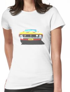 Ford Falcon Tshirt Womens Fitted T-Shirt