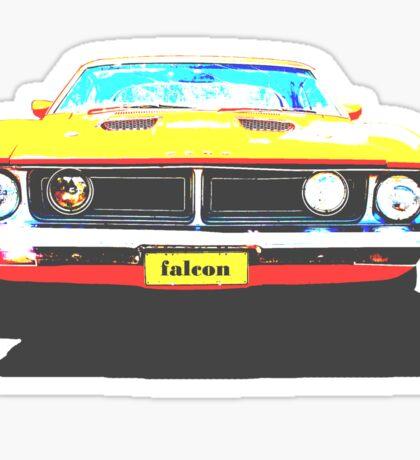 Ford Falcon Tshirt Sticker