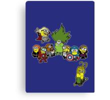 Minions Assemble Canvas Print