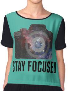 Stay Focused  Chiffon Top