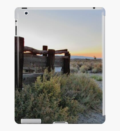 Sundown West iPad Case/Skin