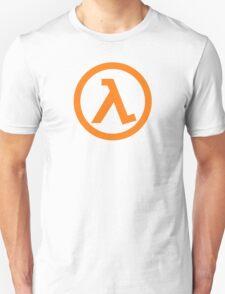 Half Life Lambda Symbol Unisex T-Shirt