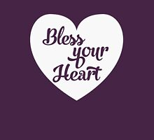 Bless your heart Southern belle Womens Fitted T-Shirt