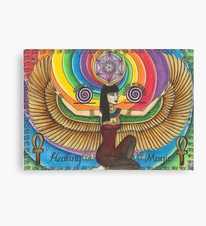 Isis - The Egyptian Goddess Canvas Print