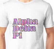 ADPi Block Text Pink Unisex T-Shirt
