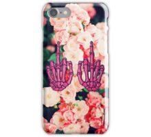 Floral Skeleton iPhone Case/Skin