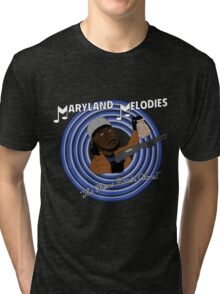 Maryland Melodies: The Cheese Stands Alone! Tri-blend T-Shirt