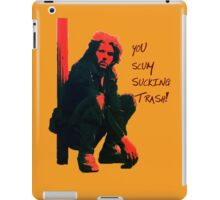 Toecutter is the sh1t! iPad Case/Skin