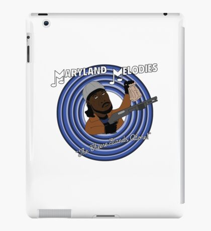 Maryland Melodies: The Cheese Stands Alone! iPad Case/Skin