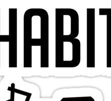 Fuel the Habit Sticker