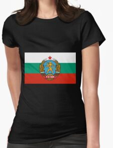 BULGARIA-COAT OF ARMS 1948-68 Womens Fitted T-Shirt