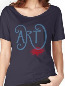 Art – It's Messy Women's Relaxed Fit T-Shirt