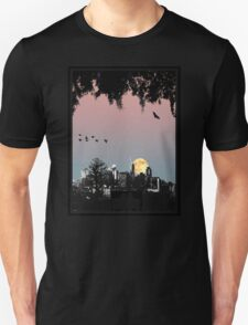 Brisbane City Skyline Unisex T-Shirt