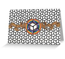 Healing Multi-Dimensional Antahkarana Greeting Card