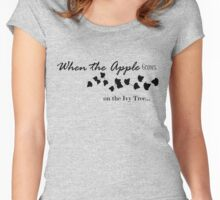 Apple Black Ivy Tree Women's Fitted Scoop T-Shirt