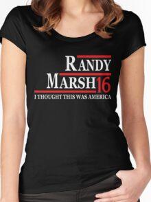 Randy Marsh 2016 T-shirts & Hoodies Women's Fitted Scoop T-Shirt