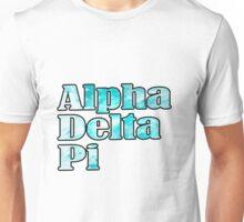 ADPi Block Text - Light Blue Unisex T-Shirt