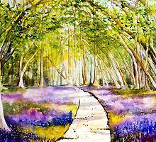 Bluebells by A Portrait  of Europe