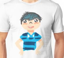 Mo in Blue Unisex T-Shirt