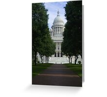 State Capital Greeting Card