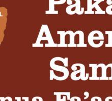 National Park of American Samoa Sticker