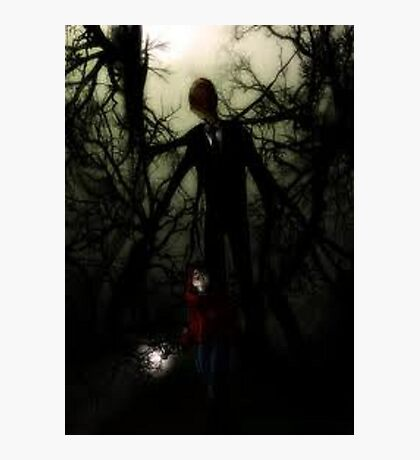 slender man  Photographic Print