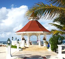 Jamaican Wedding Gazebo  by Karagin